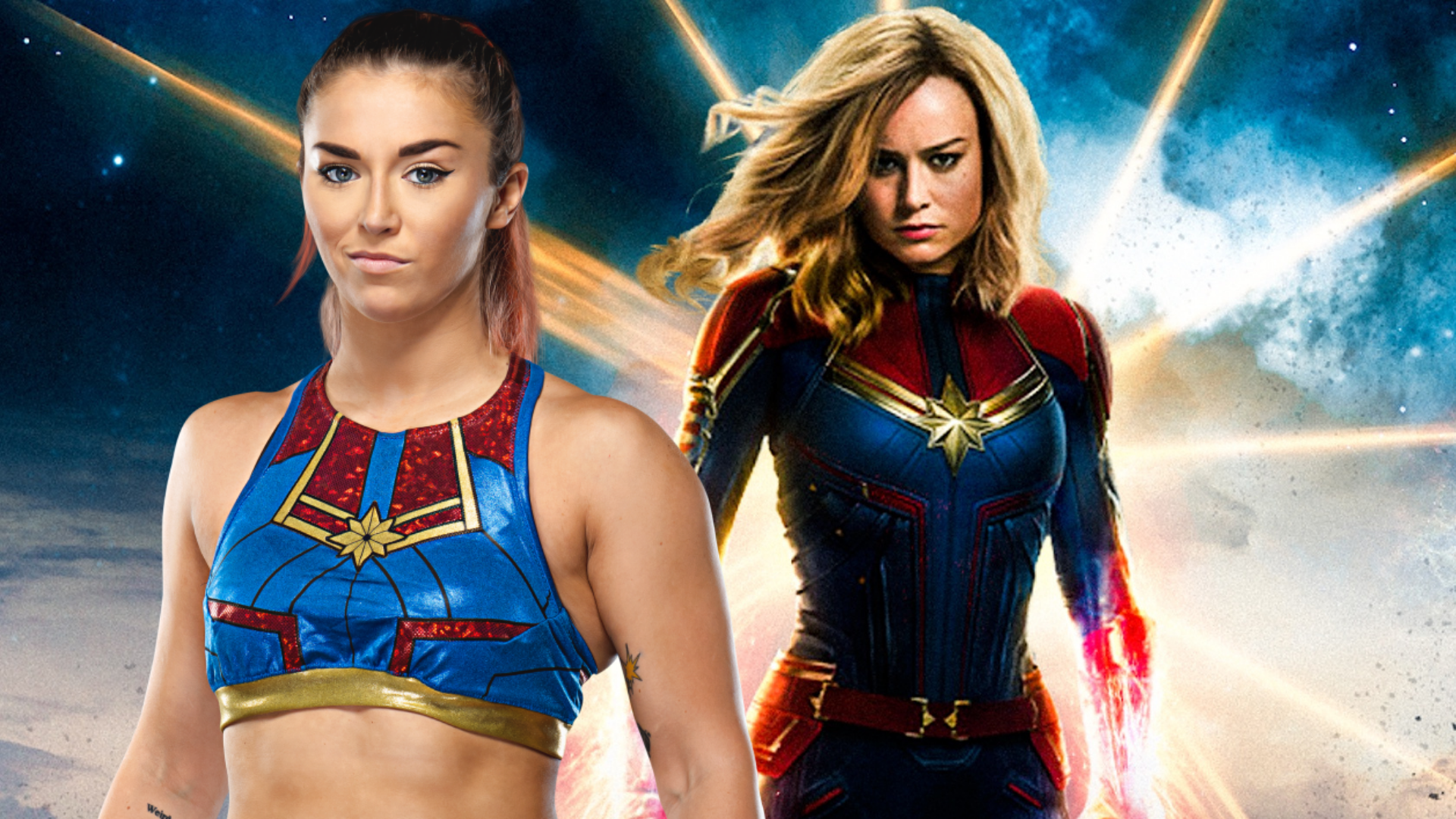 Tegan Nox coming out Dank Captain Marvel